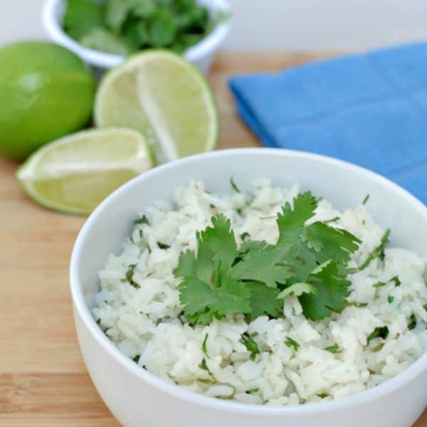 5 Ingredient Cilantro Lime Rice