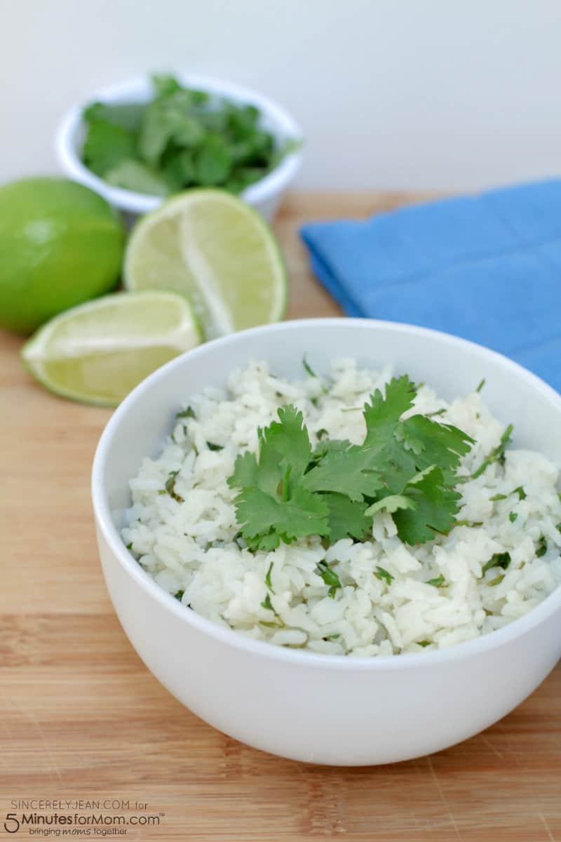 5 Ingredient Cilantro Lime Rice