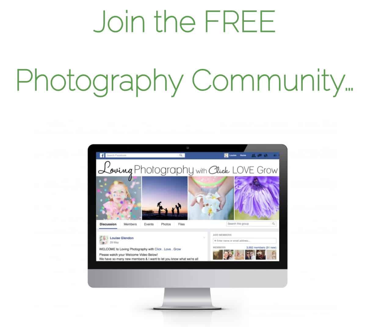 Click Love Grow Photography Community