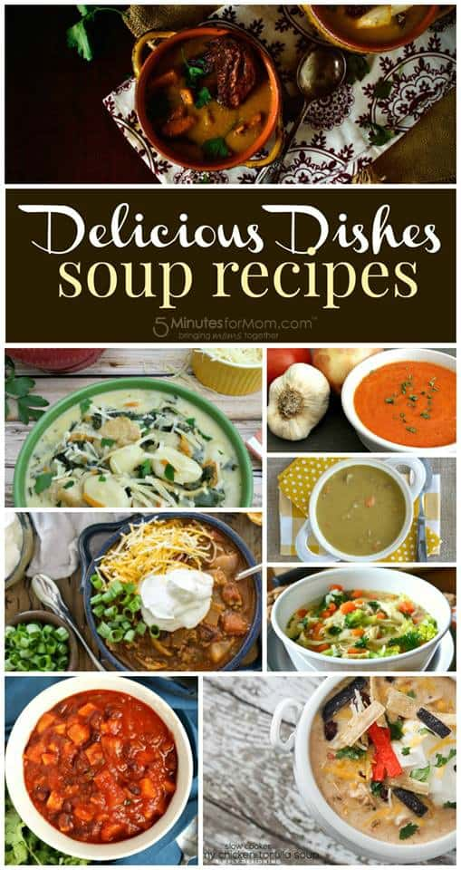 Delicious Dishes - Soup Recipes