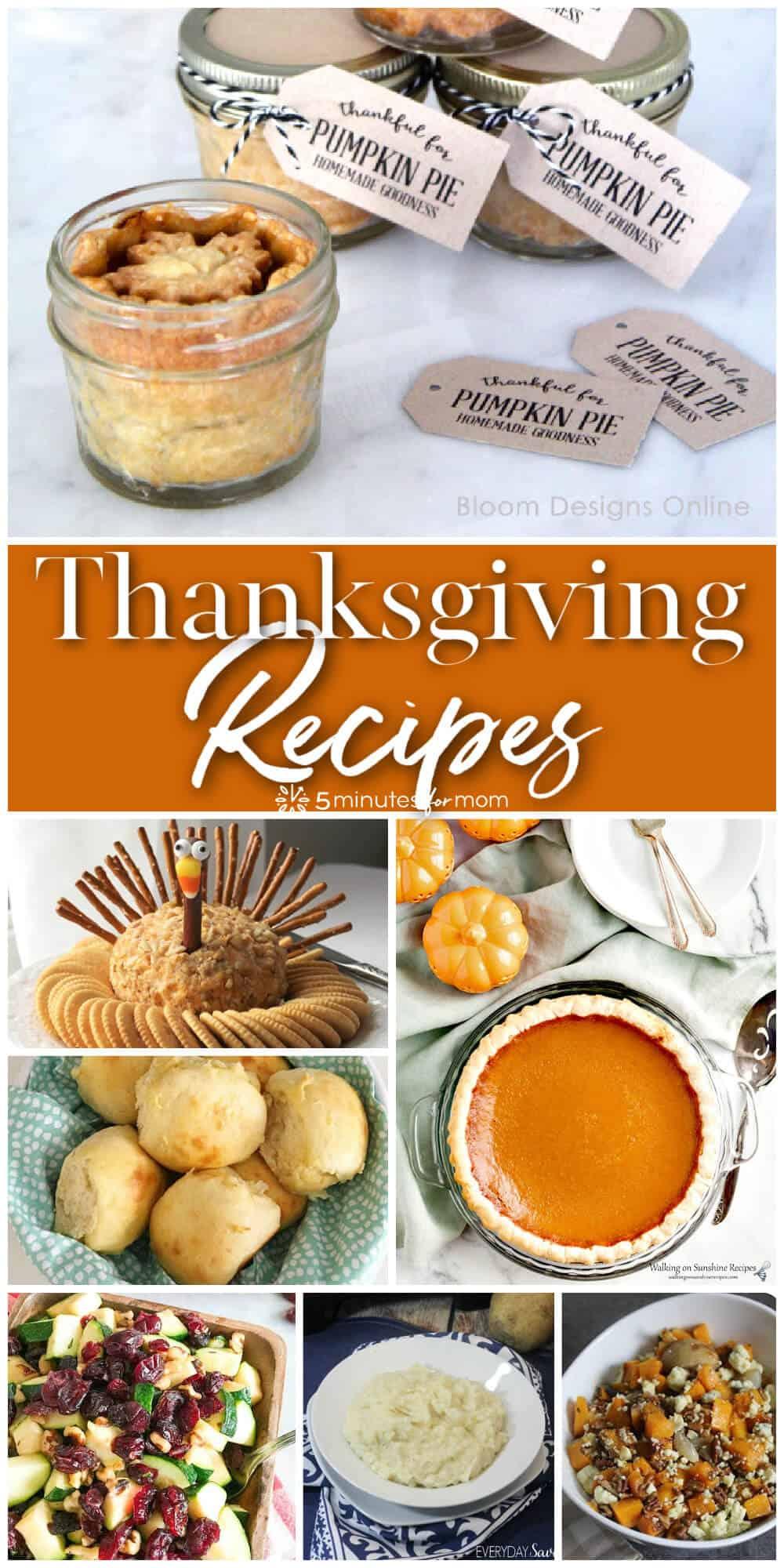 Delicious Thanksgiving Recipes