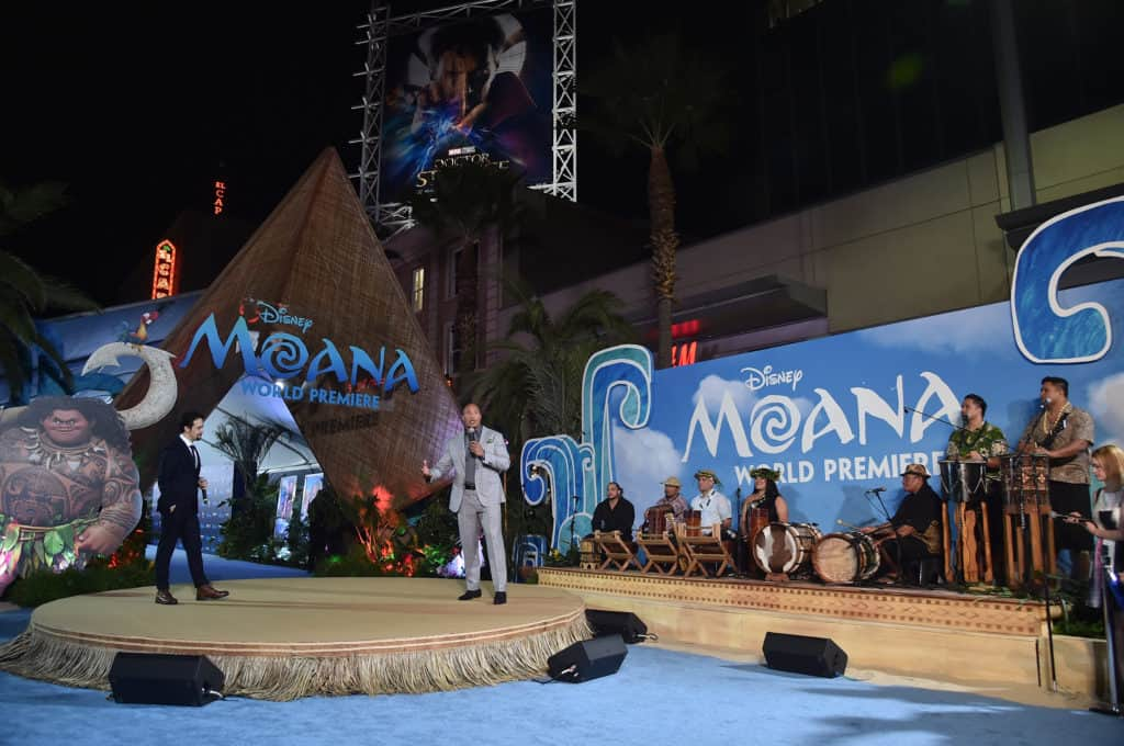 """The World Premiere of Disneys """"MOANA"""" at the El Capitan Theatre on Monday, November 14, 2016 in Hollywood, CA."""