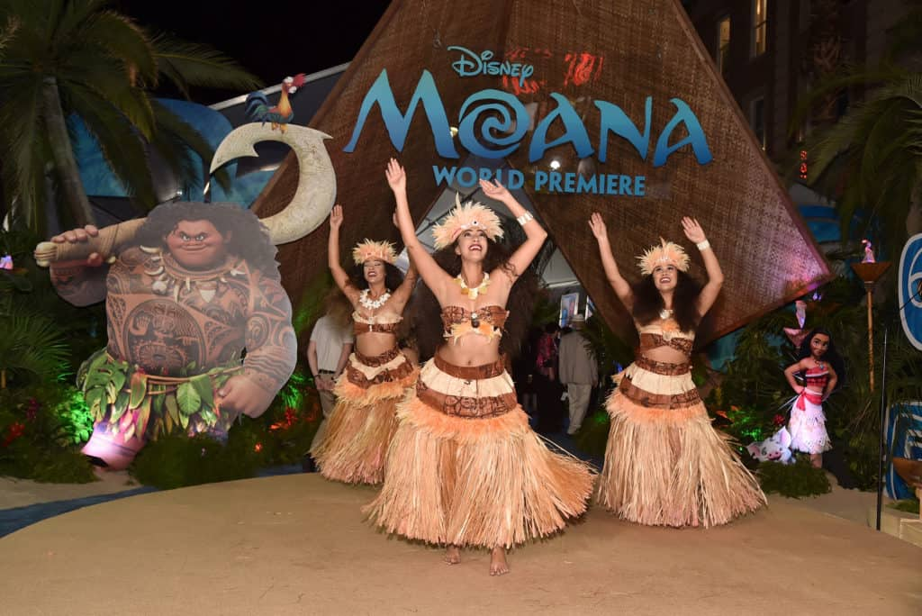 """The World Premiere of Disney's """"MOANA"""" at the El Capitan Theatre on Monday, November 14, 2016 in Hollywood, CA. (Photo by Alberto E. Rodriguez/Getty Images for Disney)"""