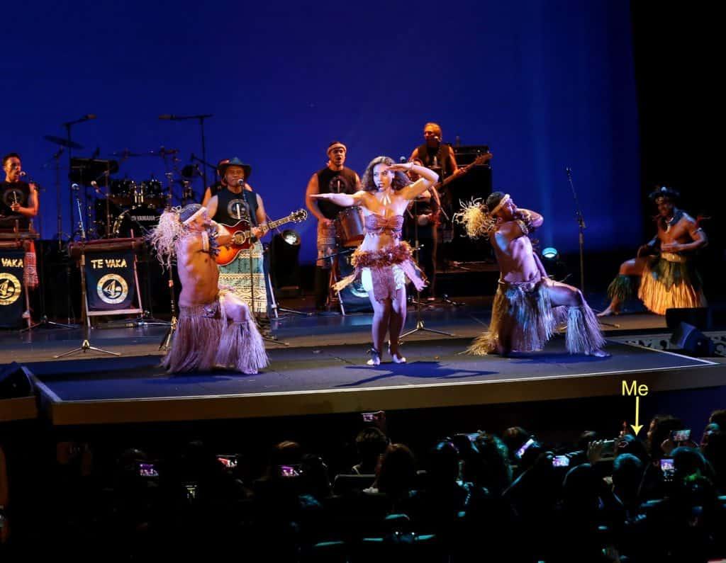 Disney Moana Premiere Te Vaka Performance