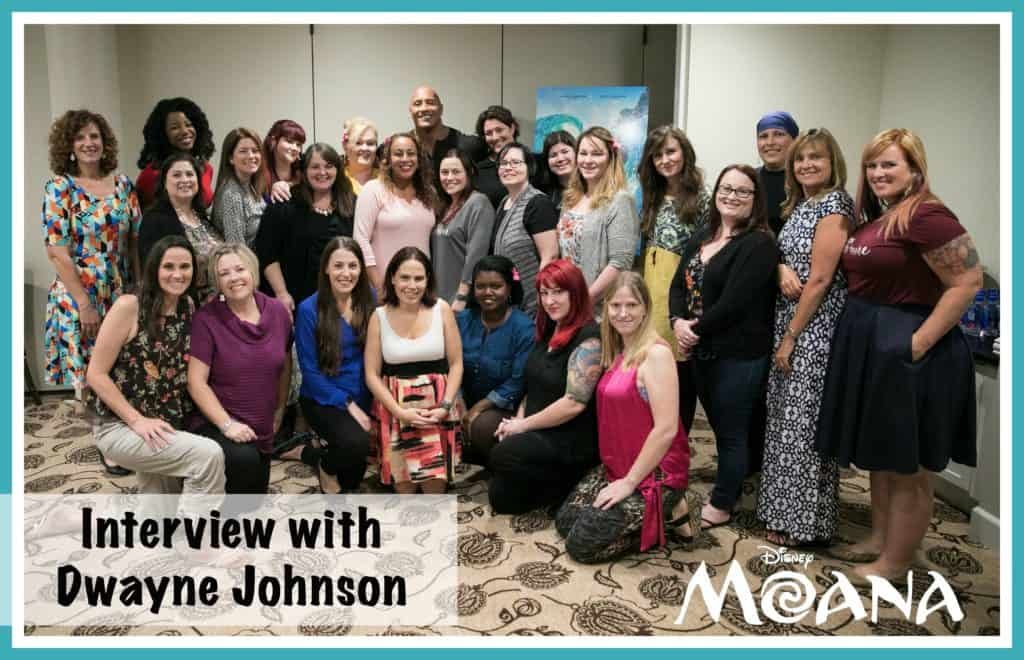 Exclusive Blogger interview with Dwayne Johnson of Disney's Mona
