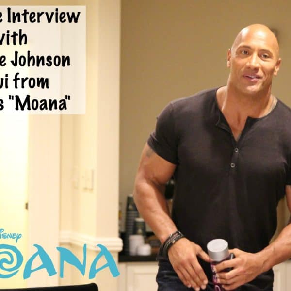 """""""Moana"""" Interview with Dwayne Johnson – #MoanaEvent"""