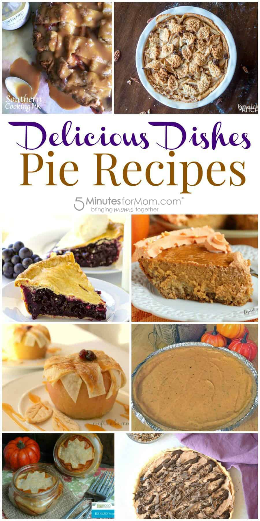 Favorite pie recipes