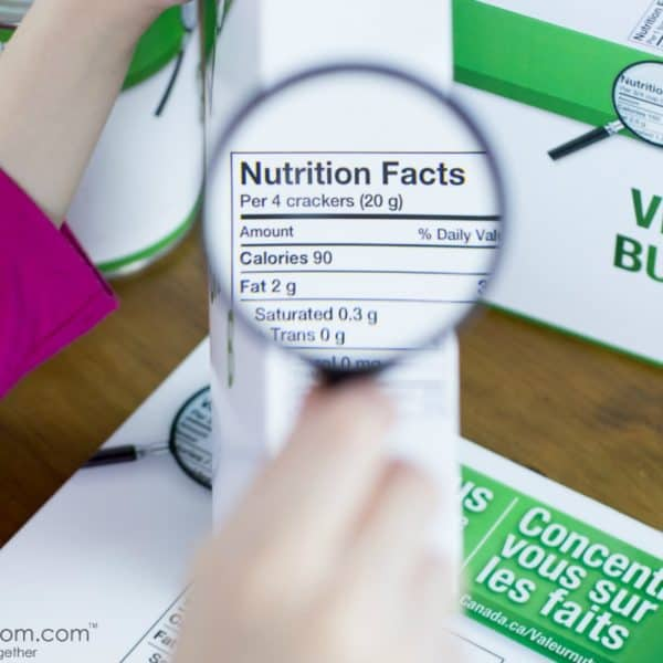Teaching Your Kids About Nutrition #FocusOnTheFacts
