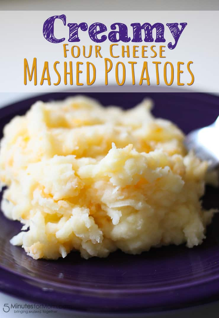 Four cheese mashed potatoes