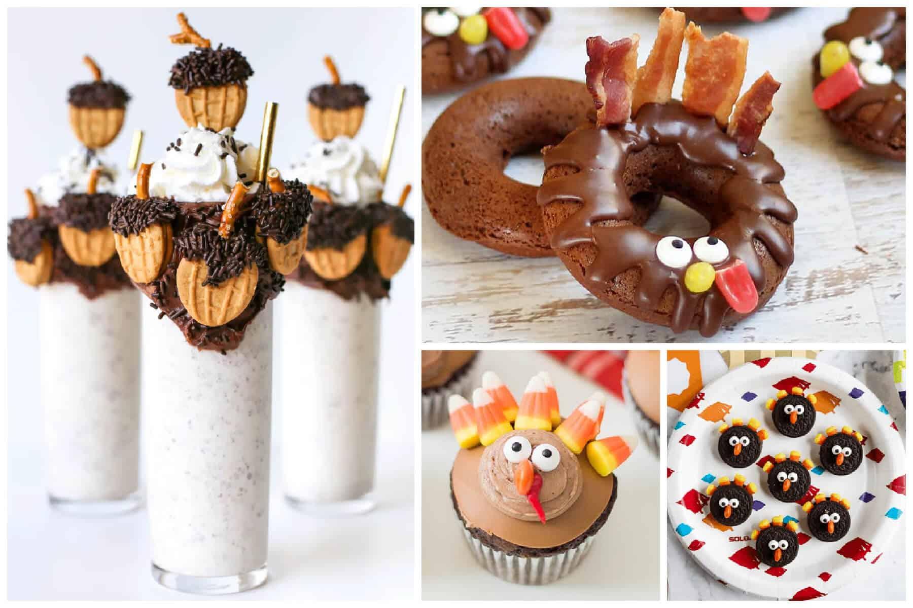 Fun Thanksgiving Treats to Make with Kids