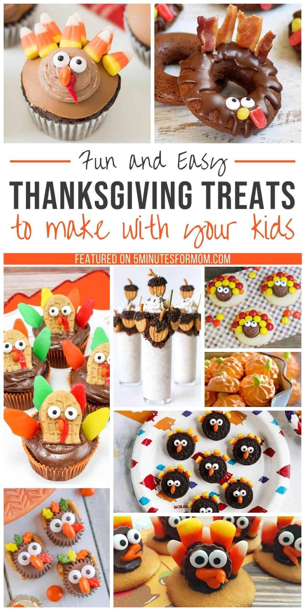 Fun and Easy Thanksgiving Treats