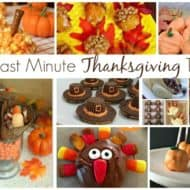 Fun Last Minute Thanksgiving Treats and Delicious Dishes Recipe Party