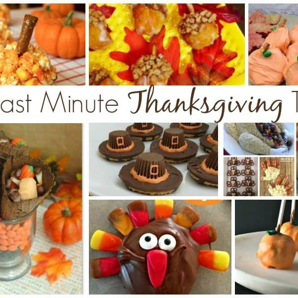 Fun Last Minute Thanksgiving Treats
