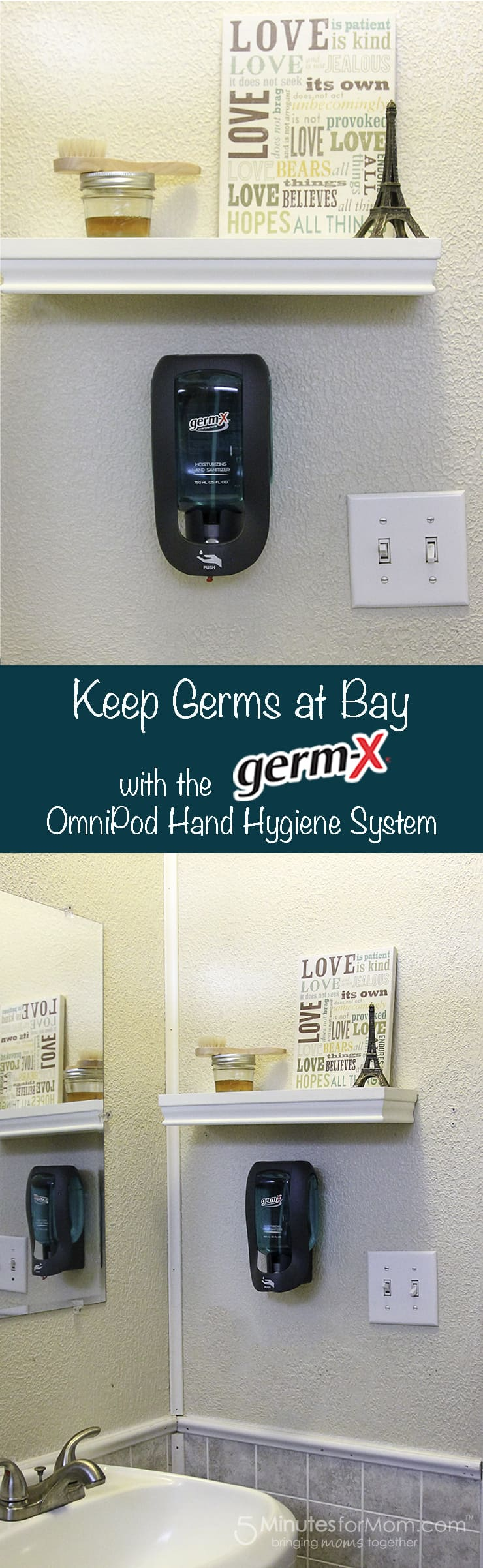 Keep Germs at bay with the Germ-X OmniPod Hand Hygiene System
