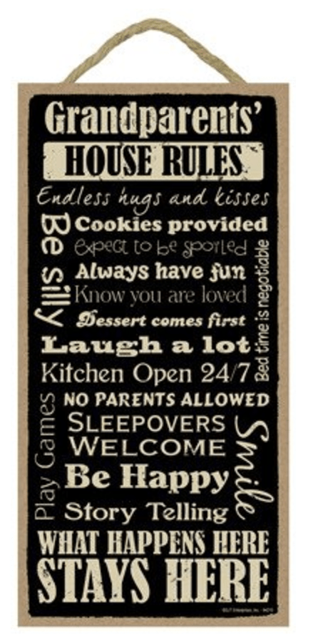 grandparents-house-rule-plaque