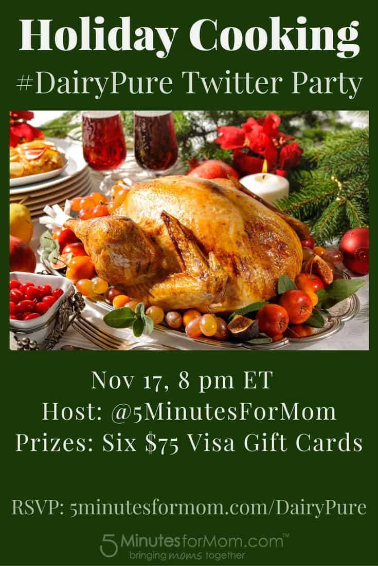 Holiday Cooking Hotline DairyPure Twitter Party