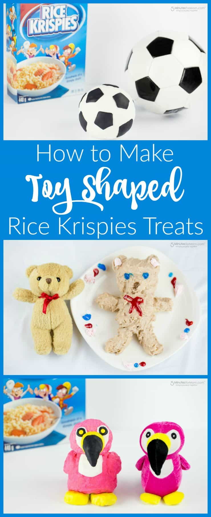 How to make toy shaped Rice Krispies Treats