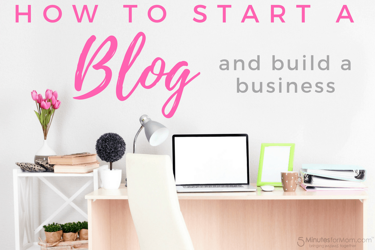 How to start a blog and a business