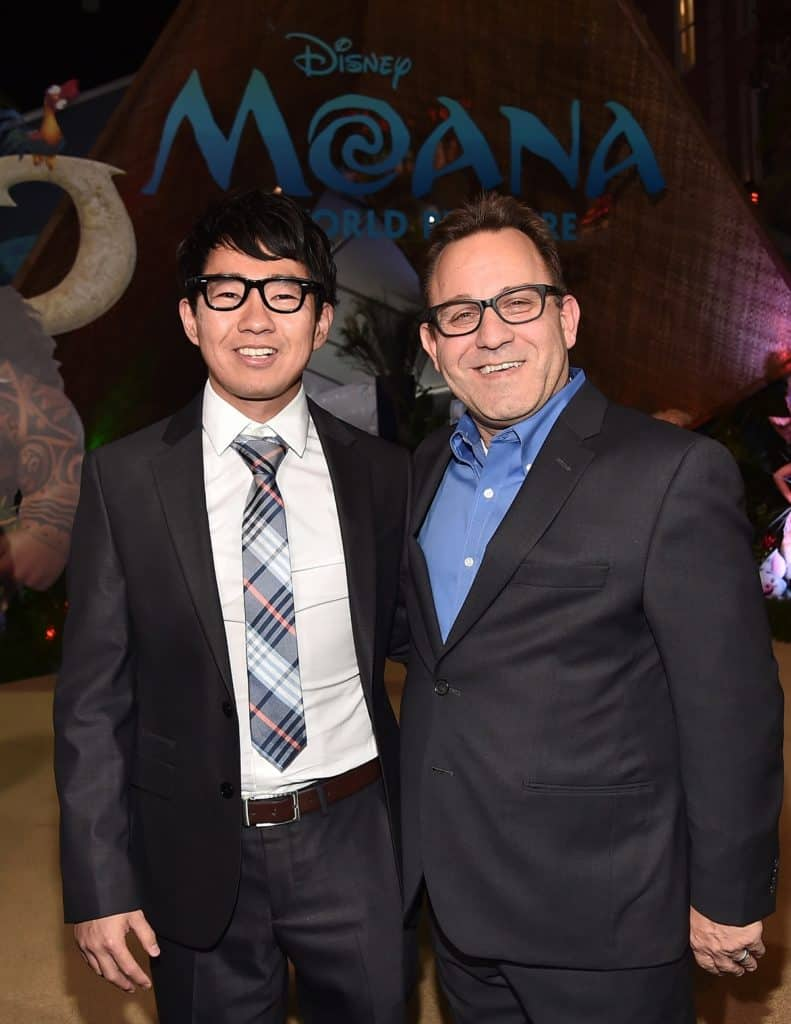 """""""Inner Workings"""" co-directors Leo Matsuda and Sean Lurie. (Photo by Alberto E. Rodriguez/Getty Images for Disney)"""