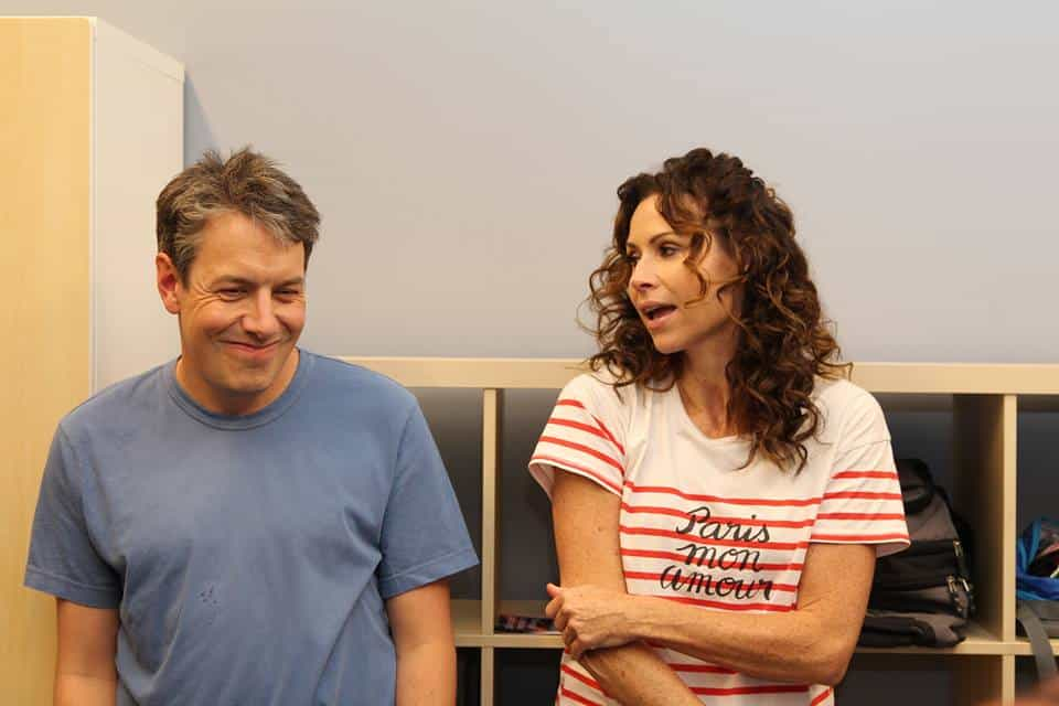 John Ross Bowie and Minnie Driver