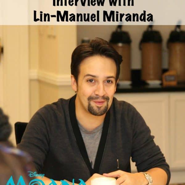 Lin-Manuel Miranda Interview – #MoanaEvent