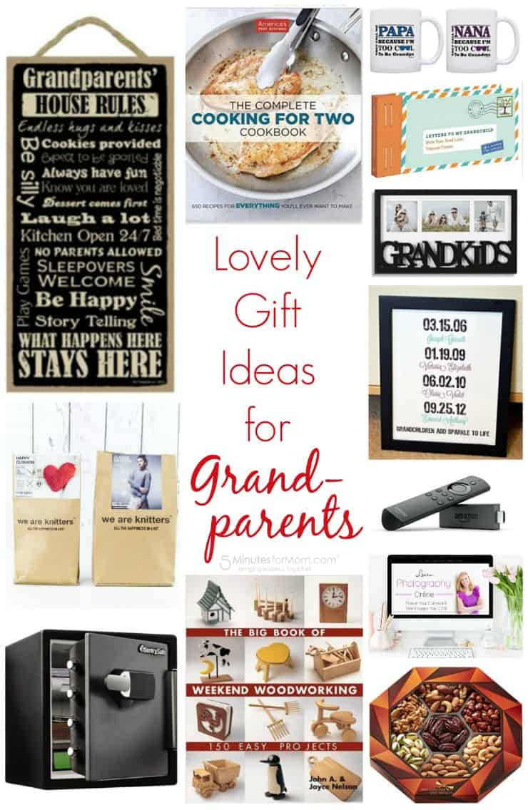 Lovely gift ideas for grandparents