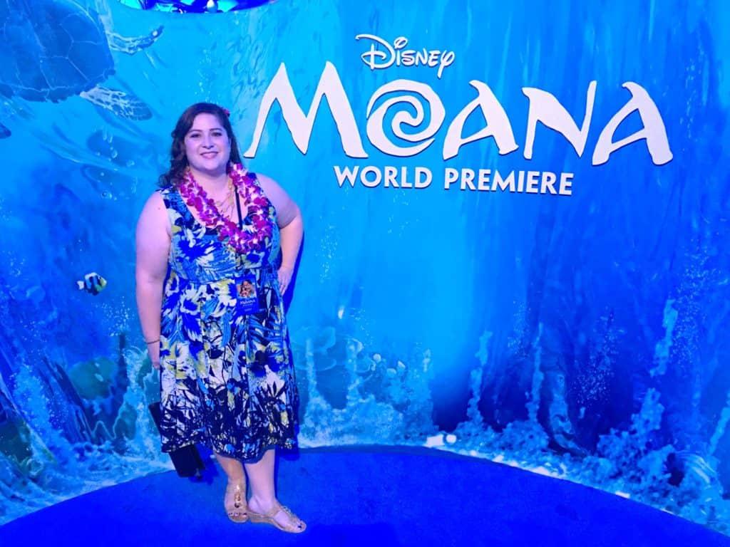 Moana Premiere - 5 Minutes for Mom - Dawn Cullo