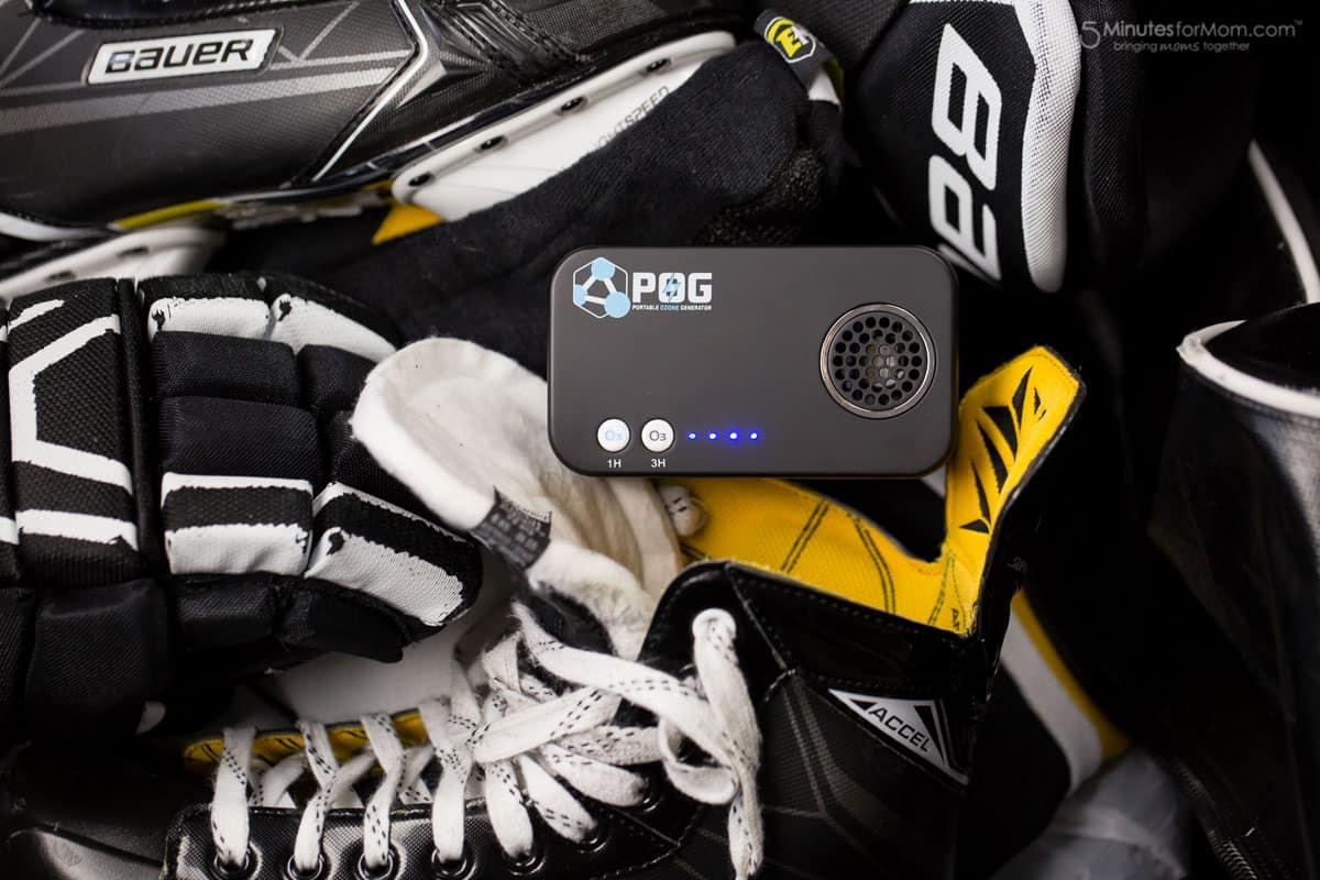 POG in hockey gear