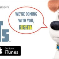 Secret Life of Pets on Digital HD today