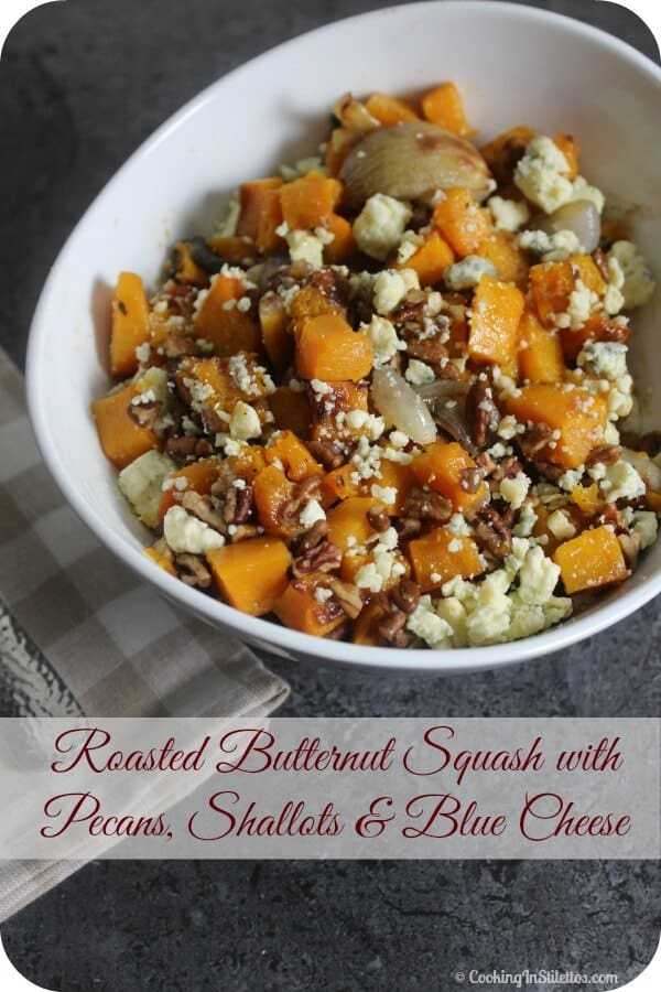 roasted-butternut-squash-with-pecans-shallots-and-blue-cheese-from-cooking-in-stilettos