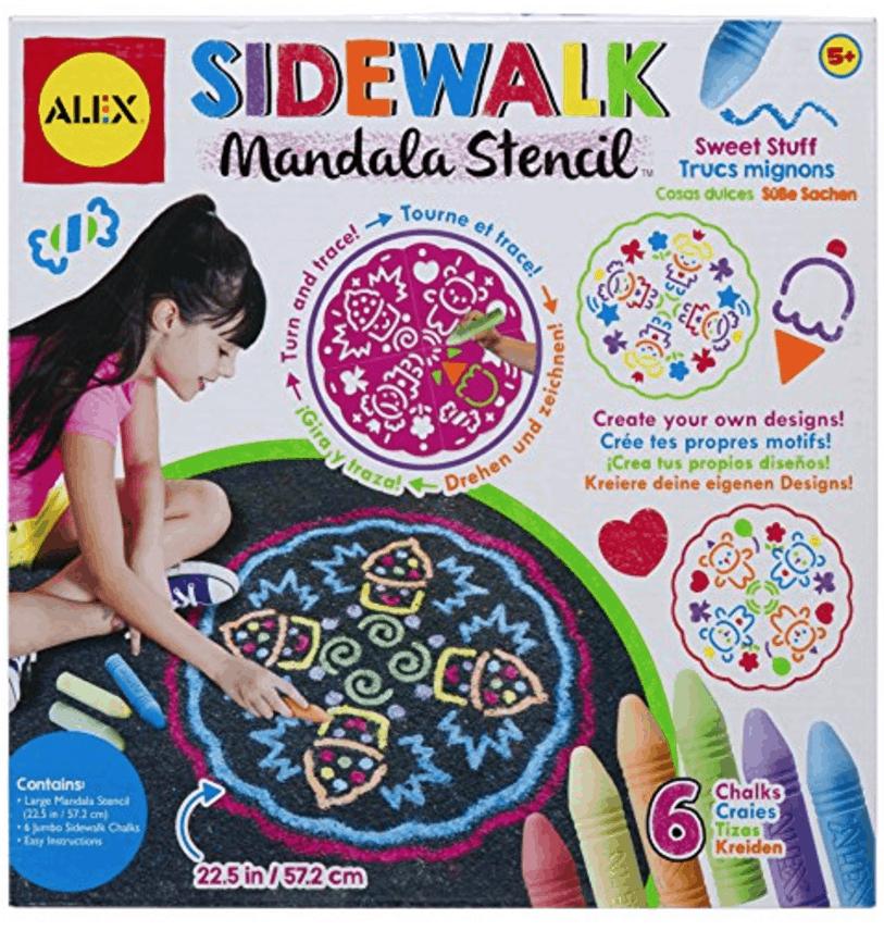 Sidewalk Mandala