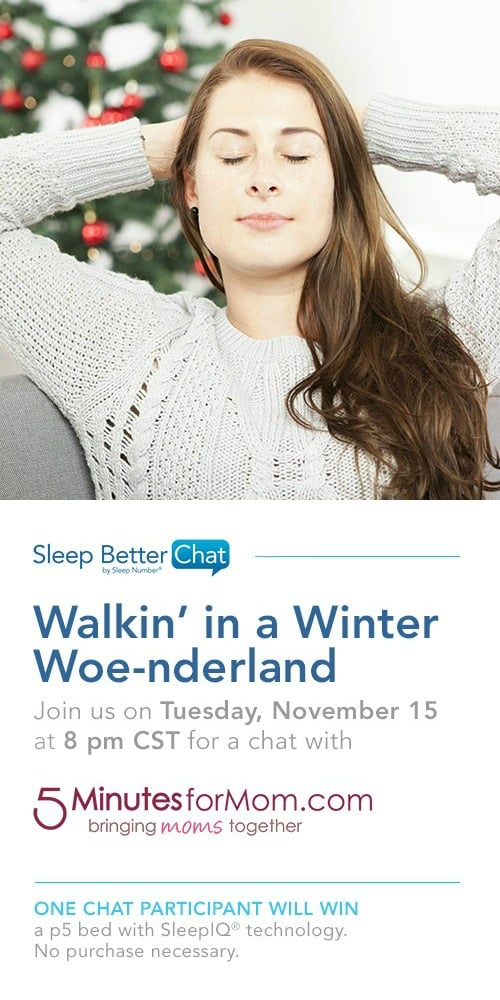 Sleep Better Chat - SNSweepstakes Twitter Party