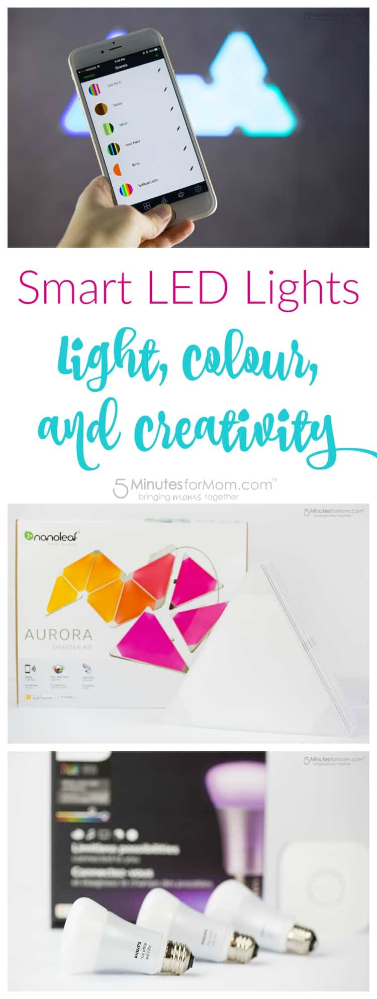 Smart LED Lights - Light Colour Creativity