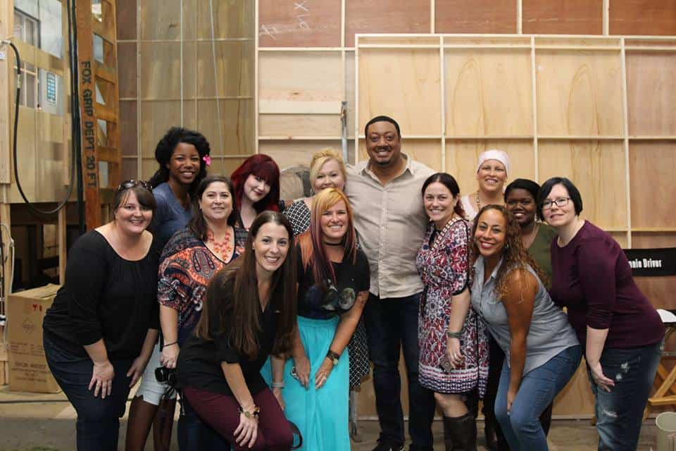 Blogger Group with Cedric Yarbrough