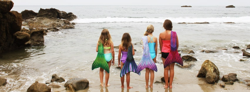 Sun Tail Mermaid Tails for Swimming