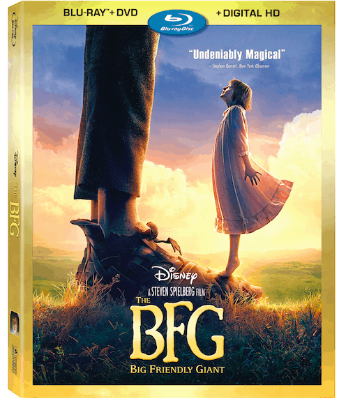 The BFG Blu-Ray is out now with bonus features