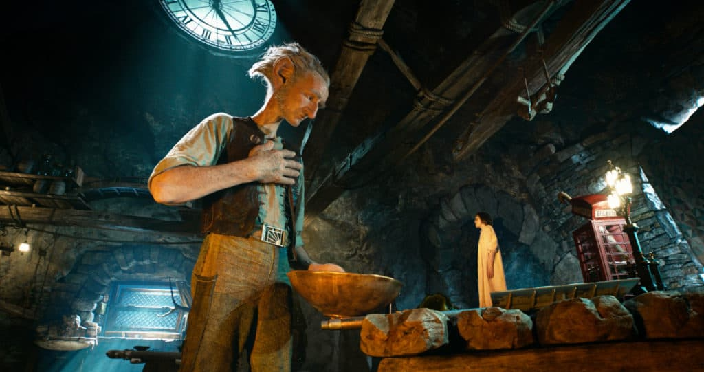 Disney's THE BFG is the imaginative story of a young girl named Sophie (Ruby Barnhill) and the Big Friendly Giant (Oscar (TM) winner Mark Rylance) who introduces her to the wonders and perils of Giant Country. Directed by Steven Spielberg, the film is based on the beloved book by Roald Dahl.