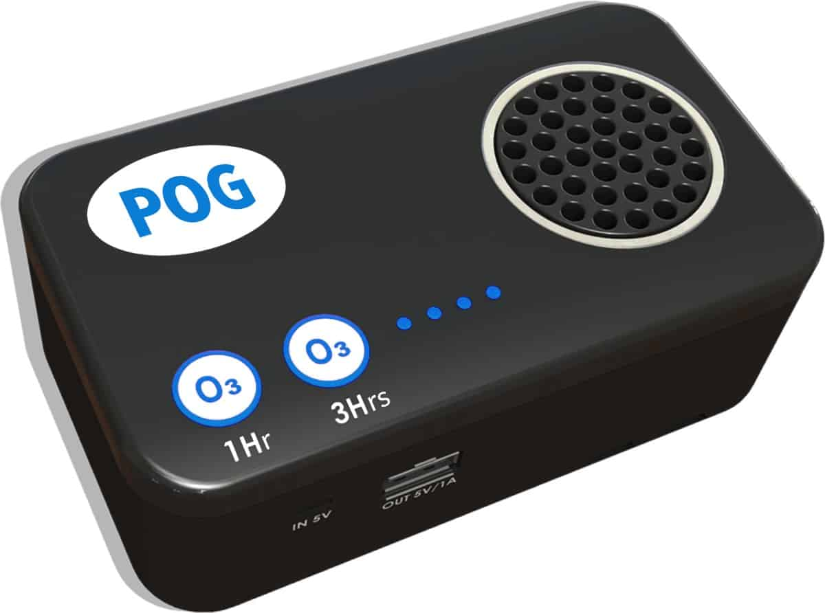 Enter to win a POG - Portable Ozone Generator - ends 12/03