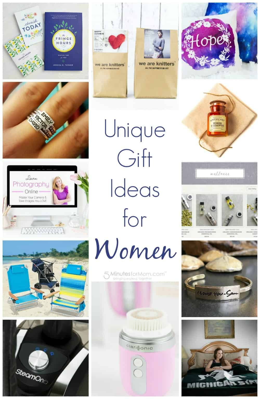 Gift Guide - Unique gift ideas for women