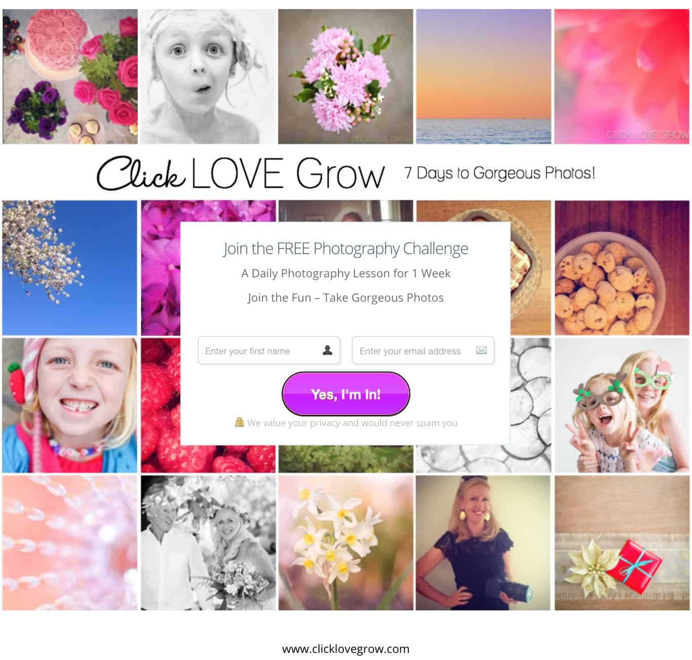 Click Love Grow Photography Challenge