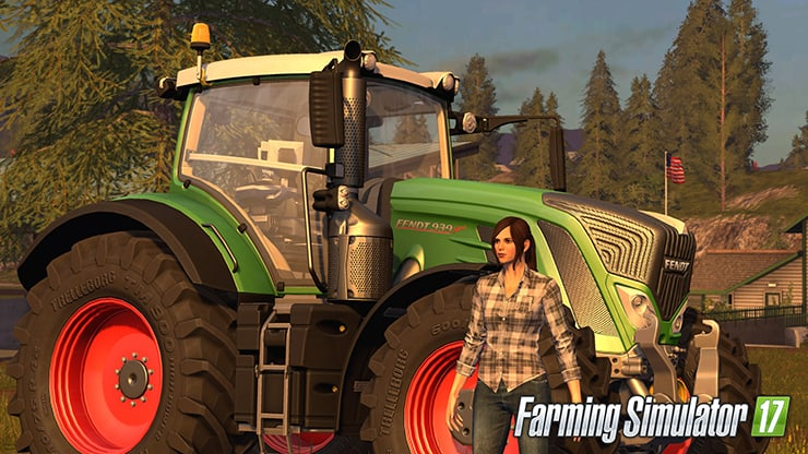 Fun Family Game - Farming Simulator 17