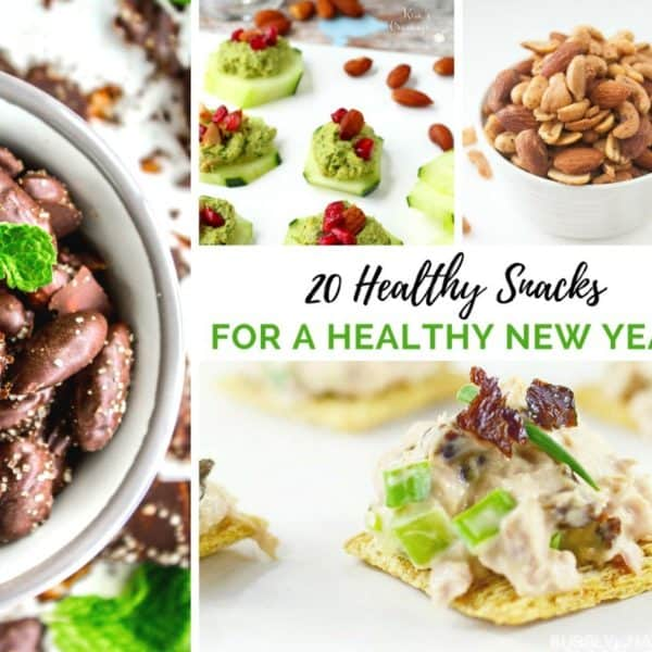 20 Healthy Snacks For a Healthy New Year