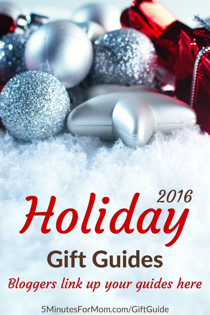 Holiday Gift Guides - Bloggers link up your own guides here