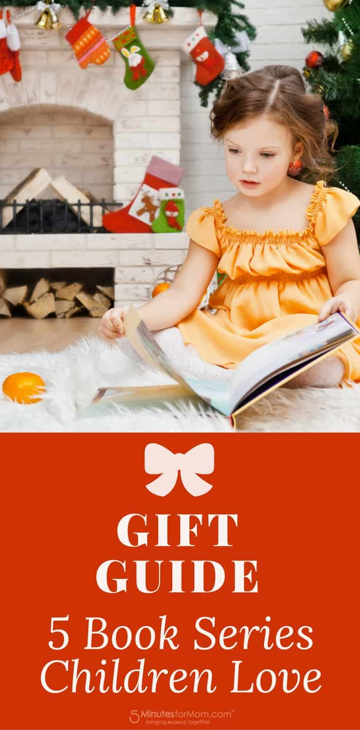 Gift Guide - 5 Book Series Children Love