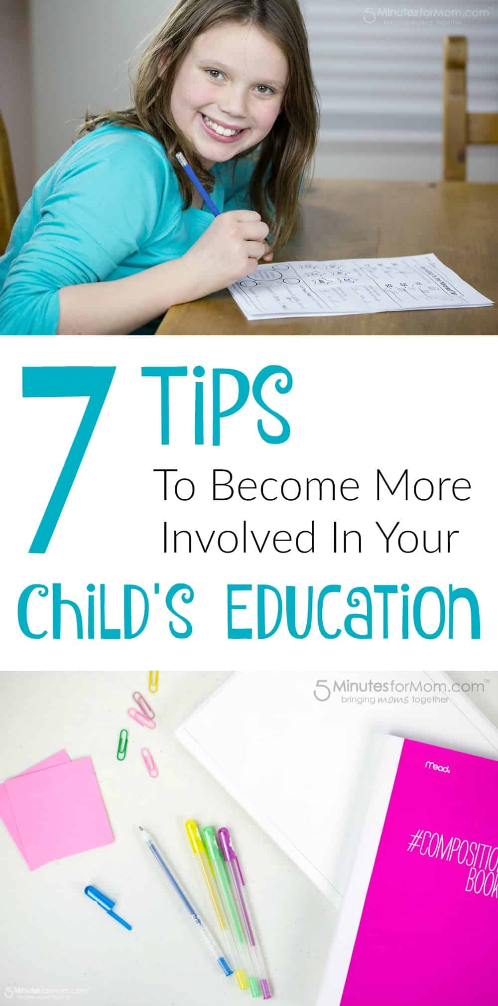 7 Tips to Become More Involved in Your Child's Education