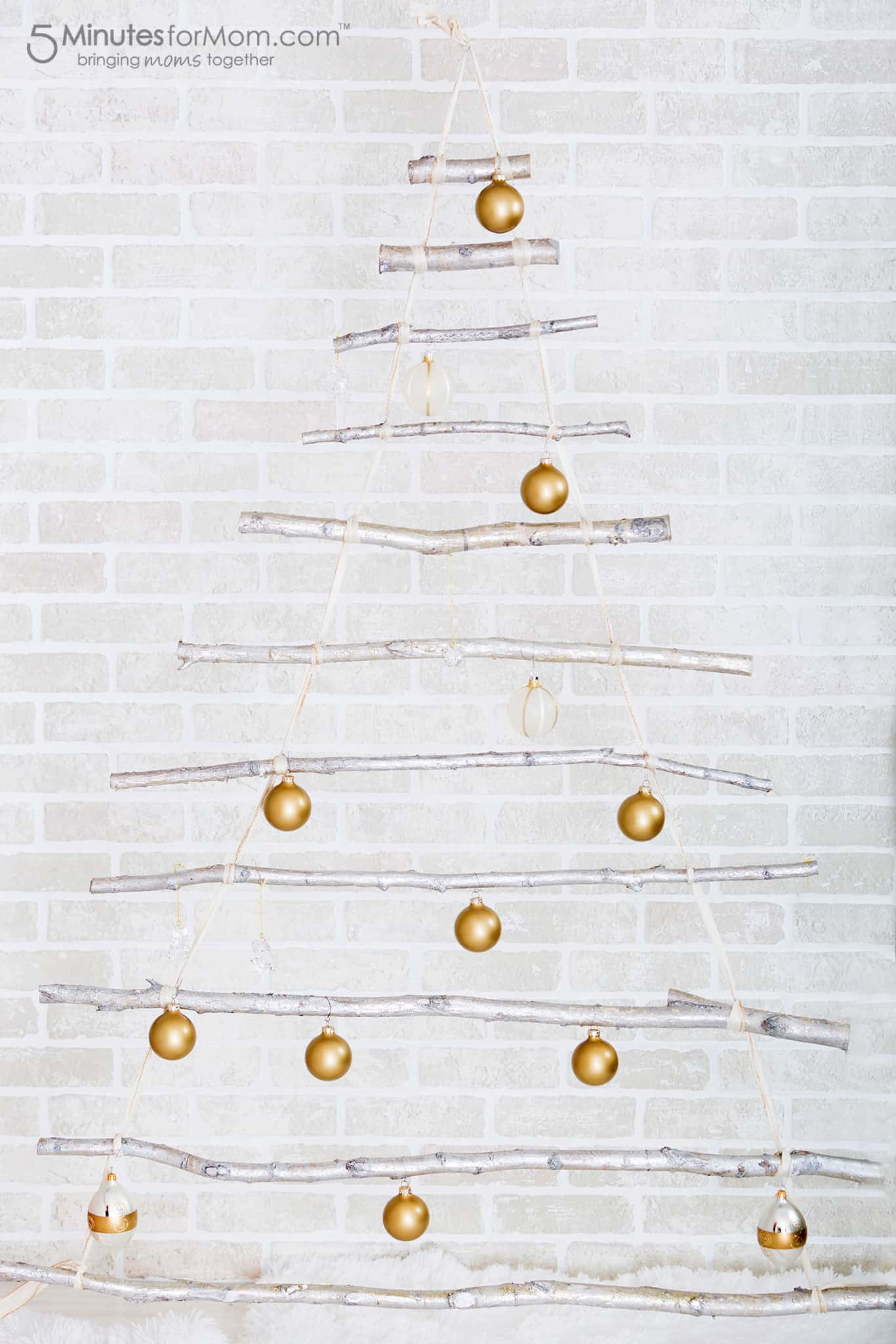 branch-christmas-tree-decorated-with-ornaments