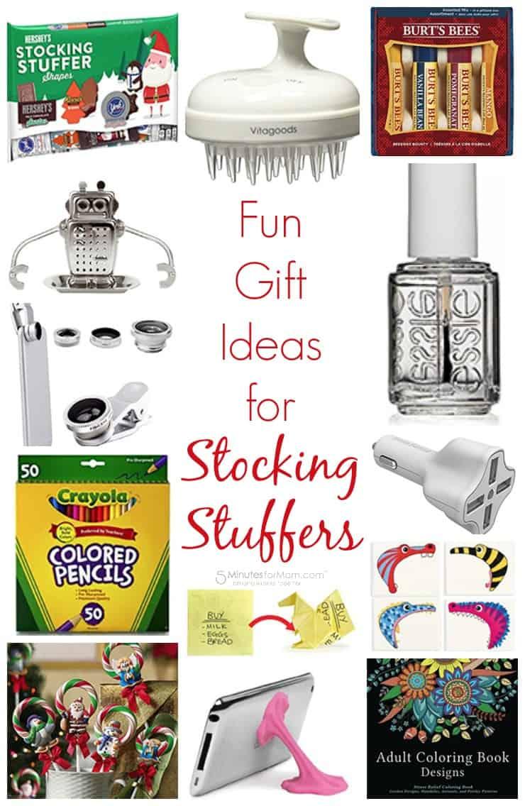 Fun gift ideas for stocking stuffers