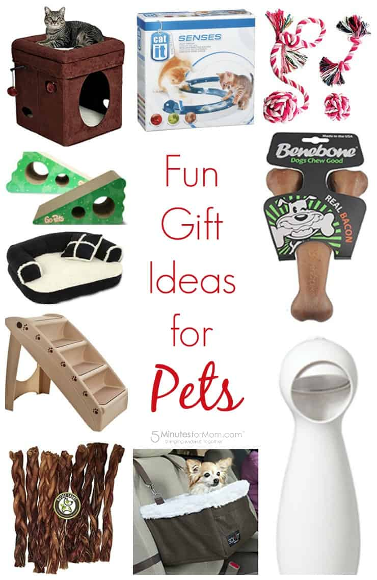 Gift Guide for Pets - Fun gifts for pets