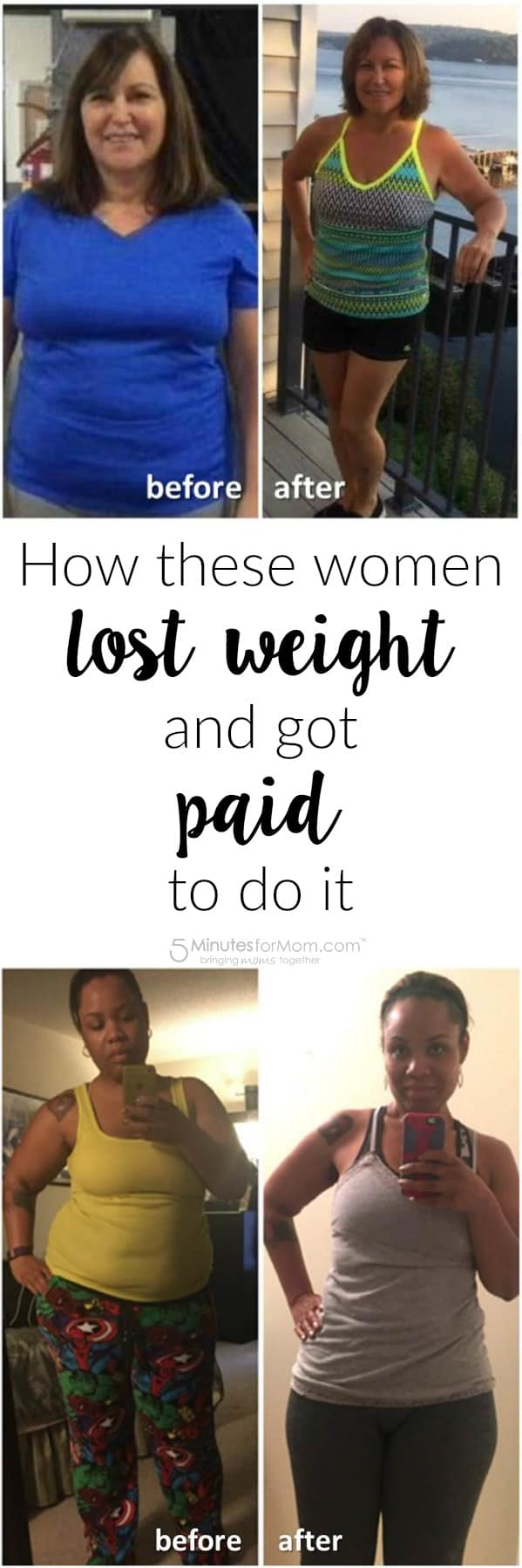 How these women lost weight and got paid to do it