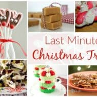 Last Minute Christmas Treats and Delicious Dishes Recipe Party